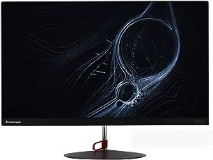 联想(ThinkVision)X24 23.8英寸AH-IPS硬屏LED背光纤薄窄边液晶高清显示器