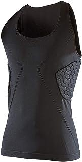 McDavid 迈克达威 男式精英加垫压缩背心 3 个六角衬垫保护肋骨和*。