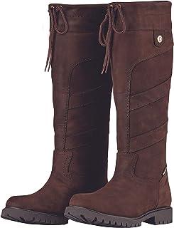 Dublin Kennet 靴巧克力色女士