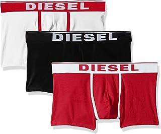 Diesel 男士 UMBX-Damienthreepack 平角内裤 3 件装