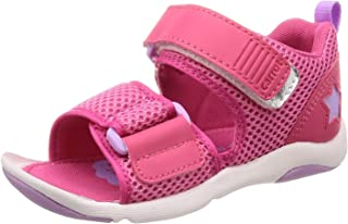 [Carrot] 凉鞋 轻量 Magic 13cm~19cm 儿童 CR C2240 粉色 18.0 cm