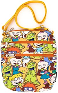 Rugrats Characters Loungefly 尼龙护照斜挎包