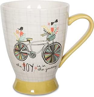 Pavilion Gift Company 74056 Joy in the Journey 陶瓷马克杯,453.59 g,多色