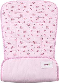 Minene 双面婴儿椅衬垫,小粉色花朵