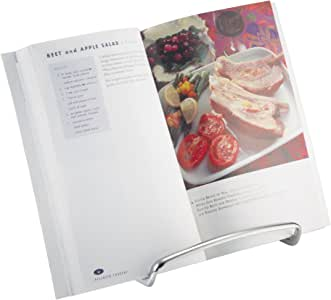 InterDesign Axis Cookbook Holder 铬黄