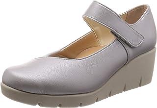 [*个隐形] 日本制造 美腿 休闲浅口皮鞋 女士 厚底 女士