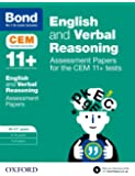 Bond 11+: English and Verbal Reasoning: Assessment Papers for the CEM 11+ tests: 10-11+ years