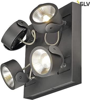 SLV KALU 墙壁和天花板灯 - 黑色