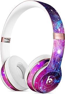 Bright Trippy Space DesignSkinz 全身皮肤套件 DRE Solo 3 无线耳机/超薄/哑光表面/保护性皮肤包装