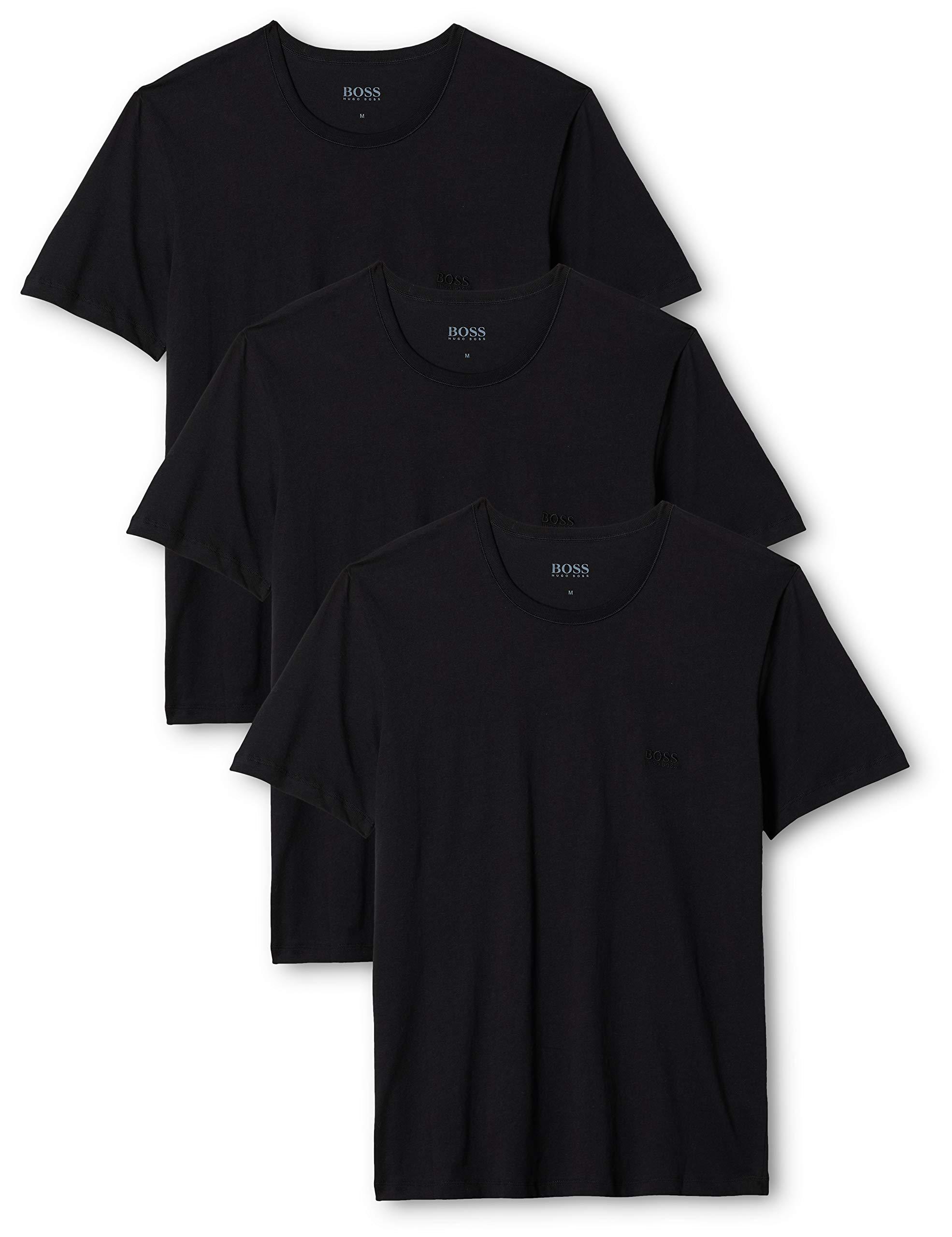 HUGO BOSSヒューゴボスメンズTシャツRnの3P共同カジュアルシャツ
