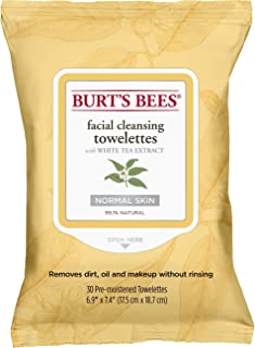 Burt's Bees灵敏洁面湿巾,30片