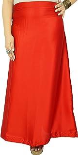 iba,印度缎丝绸衬裙,宝莱坞纯色内裙衬里,送给她的莎丽礼物