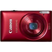 Canon 佳能 IXUS 220HS 数码相机(红色)