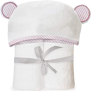 连帽婴儿毛巾 Pink Organic Towel