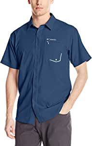 Columbia 男式 twisted Creek 短袖衬衫