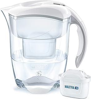 BRITA 碧然德 Elemaris XL 滤水器,与BRITA MAXTRA +滤筒兼容,白色,有助于减少石灰和氯气