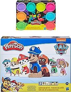 Play Doh 狗狗巡逻队英雄包 + Play Doh 8 件装霓虹灯化合物
