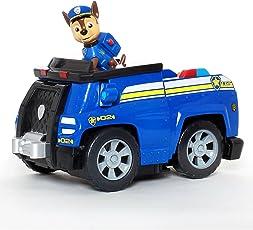PAW PATROL 汪汪队立大功 声效可变形救援车系列玩具 特务警车(供应商直送)