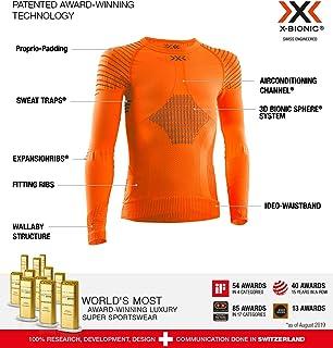 X-Bionic 儿童 Invent 4.0 圆领长袖 T 恤