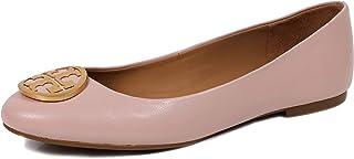 Tory Burch 女式 Benton 纳帕皮革芭蕾平底鞋 完美黑色 006