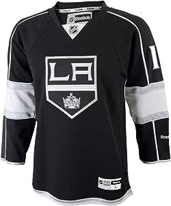 ANZE kopitar 青年洛杉矶国王 NHL Reebok 黑色球迷版球衣 黑色 小号/中号