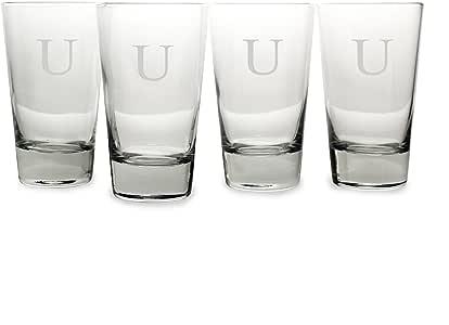 Cathy's Concepts 个性化品脱玻璃杯(4 只装) 透明 1099-A