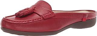 MARC JOSEPH NEW YORK 女士皮革珍珠街头凉鞋