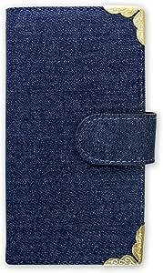 whitenuts 保护套翻盖式角装饰牛仔  蓝色 3_ Galaxy A8 Plus SM-A730F/DS