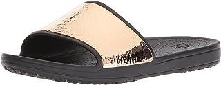 crocs 女式 sloane 锻打金属 Slide