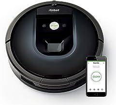iRobot Roomba 981 app控制(高效清潔,污垢檢測,清潔所有硬地板和地毯渦輪模式,適合清理寵物毛發,無線)深夜藍