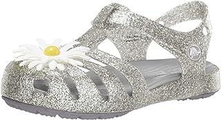 Crocs 卡骆驰儿童 Isabella Charm 凉鞋芭蕾平底鞋