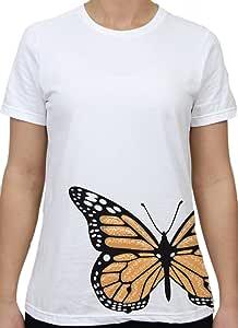 谷仓 eleven MONARCH 中性款 T 恤白色小号