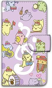 Miriko猫 印花翻盖 迷你猫咪图案壳 手册式WN-LC381182-MX 12_ isai LGL22 みっちりねこマーチC
