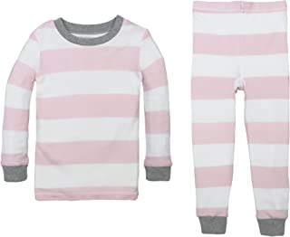 Burt's Bees Kids Girls' Organic 2 Piece Pj Set