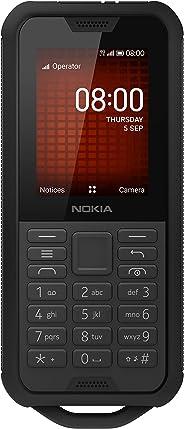 诺基亚 800 Tough 2.4 英寸 4G UK 免提手机带 Google Assistant (单 -SIM)– 黑色