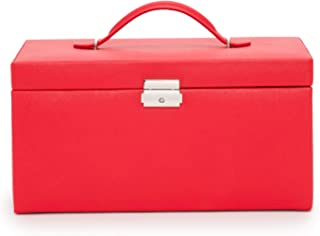 WOLF Heritage XL 首饰盒,红色十字纹
