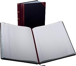 Boorum & Pease 23 系列专栏簿 记录簿 300 页 黑/红 (23-300-R)