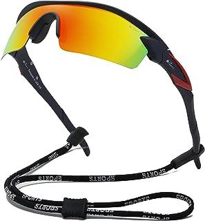 Bevi 运动太阳镜偏光镜镜片柔性镜框男女跑步自行车眼镜
