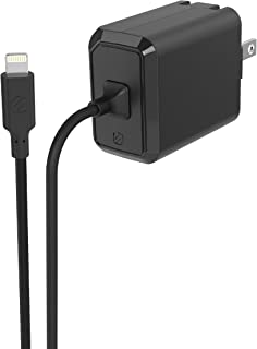 SCOSCHE Powervolt USB 壁式充电器标准 USB-C 设备HPDi486-SP Home PD3.0 with Lightning Cable 黑色