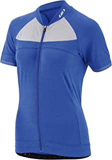 Louis Garneau - 女士 Beeze 2 轻质短袖全拉链骑行运动衫