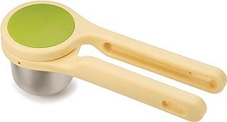 Joseph Joseph 人体工程学扭动动手压不锈钢材质 绿色/黄色 Citrus Press 20101