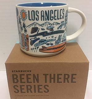 Starbucks 咖啡杯 - Been There Series ross The Globe(洛杉矶)