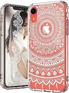 Henna 手机壳适用于 iPhone XR-1MIXRT95 Mandala Lace