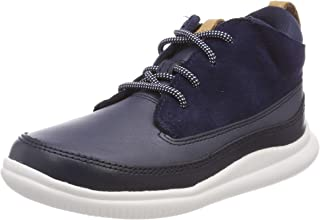 Clarks Cloud Air 儿童高帮运动鞋