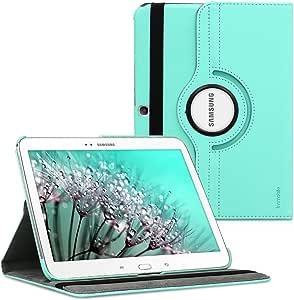kwmobile 360° 手机壳适用于三星 Galaxy Tab 3 10.1 P5200/P5210 - PU 皮革保护平板电脑保护套 带支架功能 - 黑色14618.71_m000018