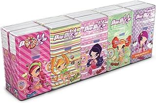 World Cart Srl Pop Pixie 纸巾 4 层套装 4 x 10 包 9 张纸巾