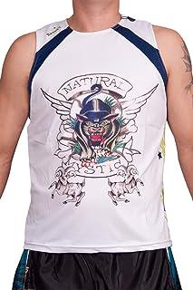 Ed Hardy 男士运动背心肌肉 T 恤