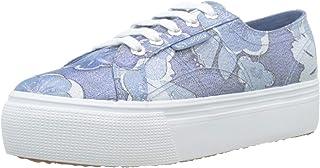 Superga 女士2790-fabriclameflowerw 运动鞋