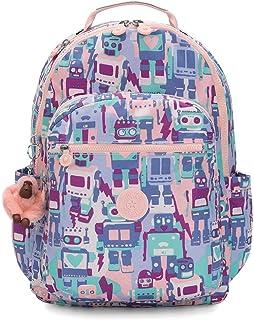 Kipling 凯浦林 BTS 书包 Seoul Robot Camo Pink One Size Robot Camo Pink
