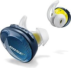 Bose SoundSport 自由无线运动耳机-午夜蓝/Citron